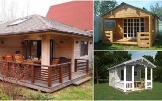Как проектируется и строится летняя кухня с верандой?