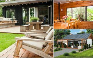 Строительство летней кухни на даче своими руками